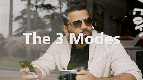3 módy použitia